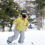 スノーボードの女性の画像