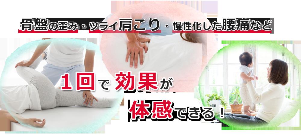 カラダPIT 骨盤のゆがみ・ツライ肩こり・慢性化した腰痛など